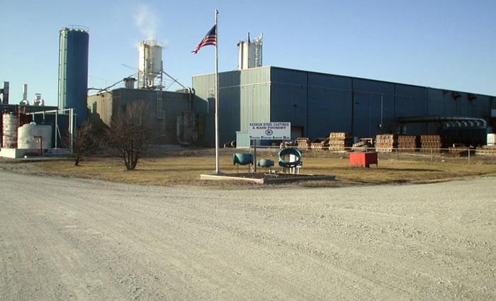Keokuk Steel Castings plant, Keokuk, Iowa