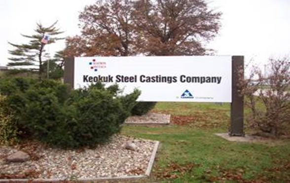 Keokuk Steel Castings, Keokuk, Iowa
