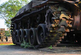 Tank treads - Keokuk Steel Castings, Keokuk, Iowa